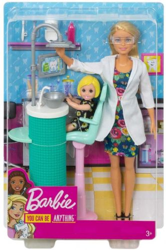 Barbie Dentist Doll and Playset